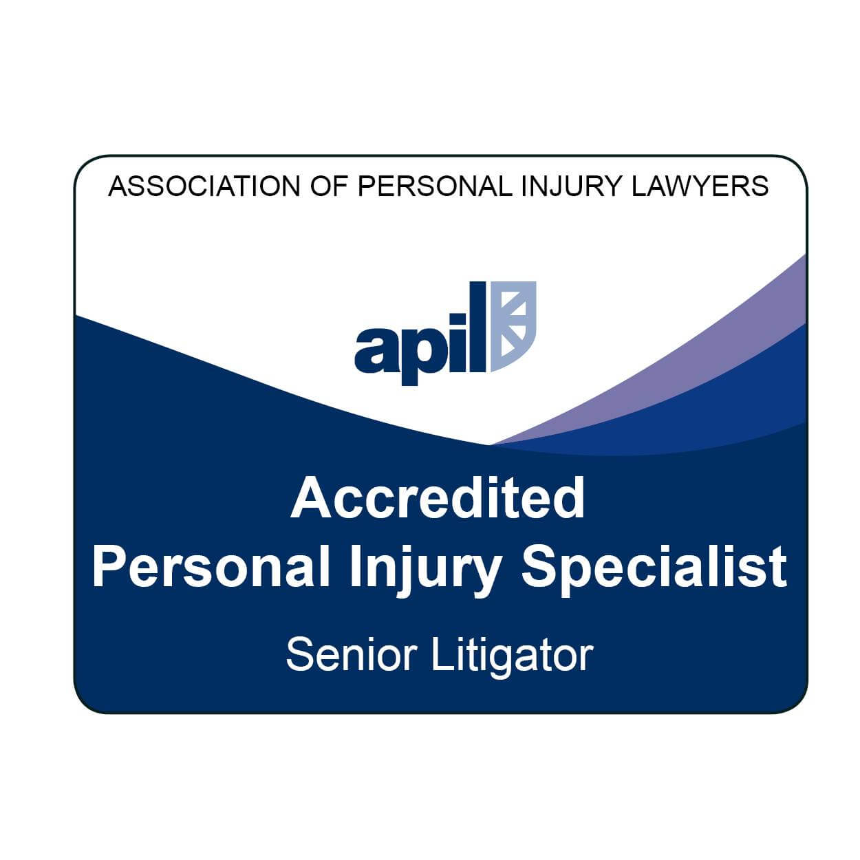 APIL Accreditation Badge