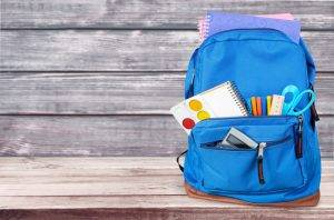 Image of a Child's rucksack